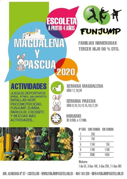 Escoleta Magdalena Funjump Castellón